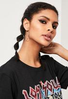 Missguided Rose Gold 3 Pack Hoop Earrings