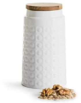 Sagaform Storage Jar with Oak Lid Tall