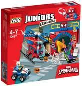 Lego Spider-Man Hideout