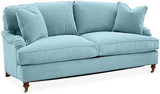 One Kings Lane Brooke Sofa - Light Blue Crypton