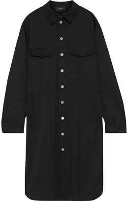 Joseph Airic Wool-blend Twill Shirt Dress