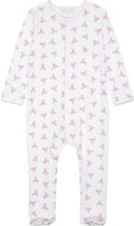 Magnolia Teddy print pima cotton baby-grow Newborn-18 months