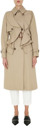 Alexander McQueen Flared Trench