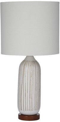 Amalfi Everett Table Lamp White 65.5cm