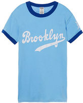 PINK Los Angeles Dodgers Perfect Ringer Tee