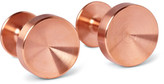 Alice Made This - Alexander Copper Cufflinks