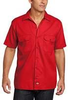 Dickies Men's Work Regular Fit Short Sleeve Casual Shirt,XX-Large