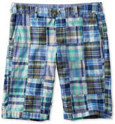 "L.L. Bean Washed Chino Bermuda Shorts, 10"" Patchwork"
