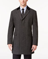 Lauren Ralph Lauren Chesterfield with Black Contrast Collar Classic-Fit Overcoat