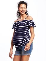Old Navy Maternity Relaxed Off-the-Shoulder Top