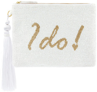 Monsoon Ines I Do Bead-Embellished Pouch
