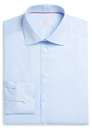 Eton of Sweden Gingham Check Slim Fit Dress Shirt