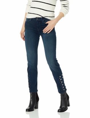 Hudson Women's NICO MRISE Cigarette with Grommet Detail 5 Pocket Jean