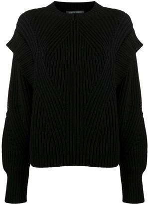 Alberta Ferretti Slouchy Knitted Jumper