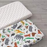 Set of 2 Jungle Animal Changing Pad Covers