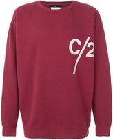 Geo oversize C2 sweatshirt