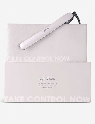 ghd gold Pink Collection styler