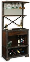 Howard Miller Red Mountain Wine & Bar Cabinet in Rustic Hardwood