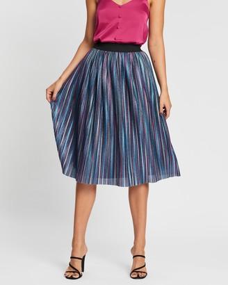 Atmos & Here Sparkle Midi Skirt