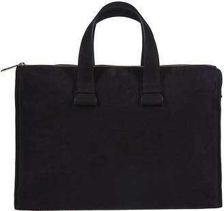 Orciani Double Handle Shoulder Bag