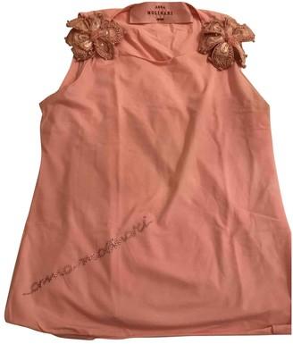 Anna Molinari Pink Cotton Top for Women