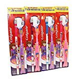 Colgate Kids Extra Soft Colorful Toothbrush with Pencil for 5+ Years - Assorted Colors