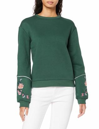 Find. Amazon Brand Women's Embroidered Sweatshirt