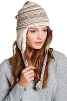 Muk Luks Snowflake Zigzag Faux Fur Lined Tassel Helmet