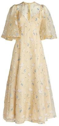 Erdem Silk Organza Alcie Dress