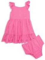 Ralph Lauren Baby Girl's Eyelet Dress & Bloomer Set