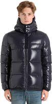 Moncler Harry Shiny Nylon Down Jacket