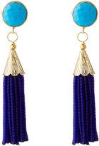 Sugar ChaChaCha Tassel Earrings, Turquoise