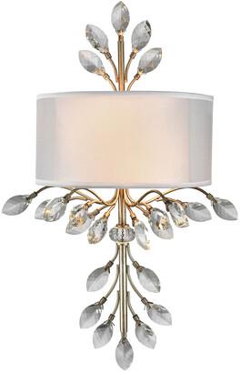 Artistic Home & Lighting Asbury 2-Light Led Wall Sconce