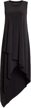 BCBGMAXAZRIA High-Low Jersey Dress