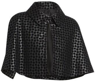 Alaia Dalmation Leather Bolero