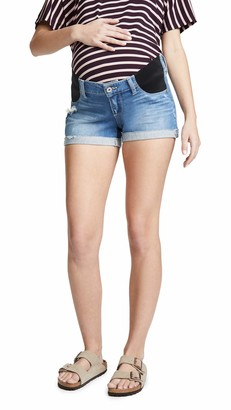 Paige Women's Jimmy Short with Elastic Insets