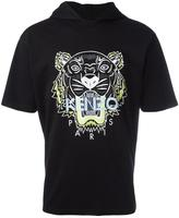 Kenzo Tiger hooded T-shirt - men - Cotton - M