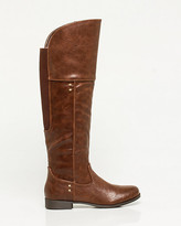 Le Château Leather-Like Over-the-Knee Boot