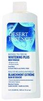 Desert Essence Mouthwash, Tea Tree Whitening Mint, 16 Fluid Ounce