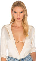 8 Other Reasons Nicole Bralette in Metallic Gold.
