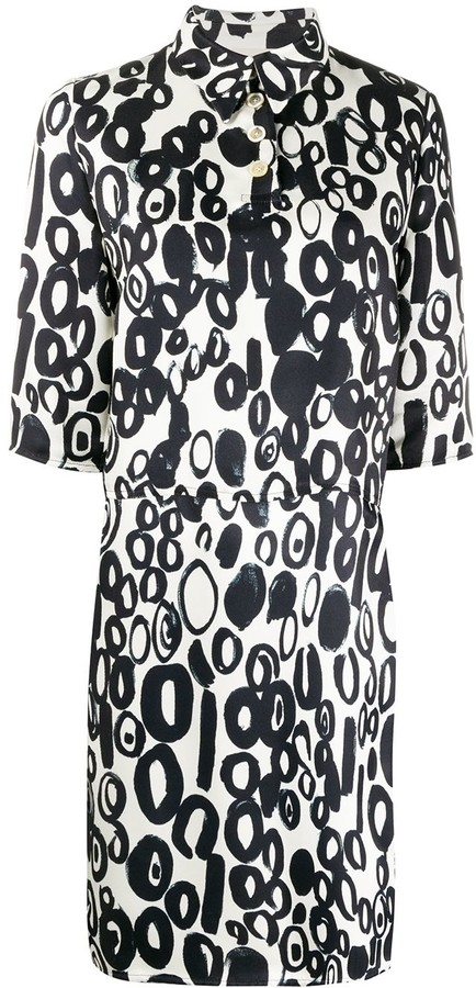 Marni Loose-Fit Printed Shirt Dress
