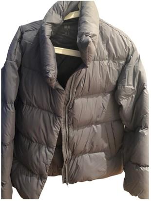 Uniqlo Purple Coat for Women