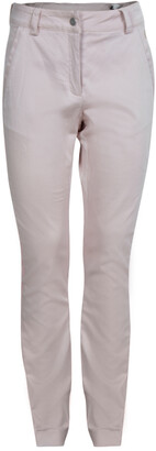 Christian Dior Pink Side Stripe Detail Skinny Trousers 10 Yrs