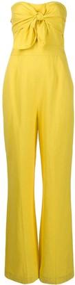 Derek Lam 10 Crosby Alene tie-front jumpsuit