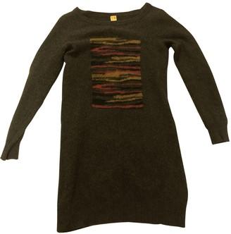 BOSS ORANGE Multicolour Wool Dress for Women