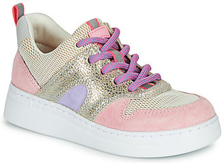 Camper RUNNER girls's Shoes (High-top Trainers) in Pink