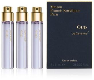 Francis Kurkdjian 3-Piece OUD Satin Mood Eau de parfum Refill Set