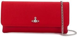 Vivienne Westwood Logo Plaque Clutch Bag