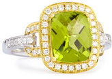 Frederic Sage Roma Peridot & Diamond Ring