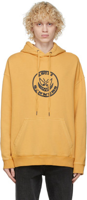 Ksubi Yellow Enemy Hoodie